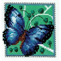 Кларт 1-032 Бабочка синяя