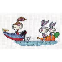 Кларт 8-080 Кролики на отдыхе