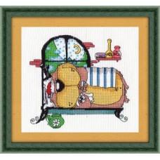 Набор для вышивания 8-086 Зимняя спячка