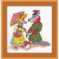 Кларт 8-109 Волк и лиса