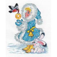 Кларт 8-178 Снегурочка и снегирь