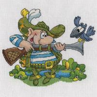 Кларт 8-191 Охотник и ворона