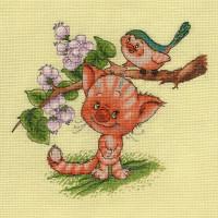 Кларт 8-194 Кот и птица