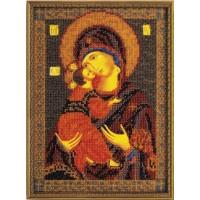 Кроше (Радуга бисера) В-147 Владимирская Богородица