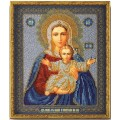 Кроше (Радуга бисера) В-156                     Богородица Леушинская