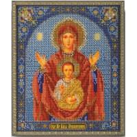 Кроше (Радуга бисера) В-157 Богородица Знамение