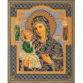 Кроше (Радуга бисера) В-164 Иерусалимская Богородица