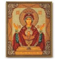 Кроше (Радуга бисера) В-165                     Богородица Неупиваемая Чаша