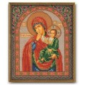 Кроше (Радуга бисера) В-166 Богородица Отрада и Утешение