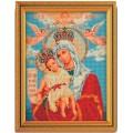 Кроше (Радуга бисера) В-168                     Богородица Милующая