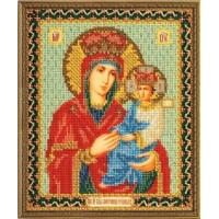 Кроше (Радуга бисера) В-169 Богородица Споручница грешных