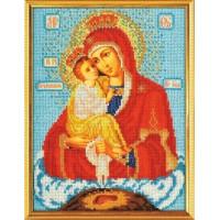 Кроше (Радуга бисера) В-170 Богородица Почаевская