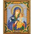 Кроше (Радуга бисера) В-171 Богородица Неувядаемый Цвет