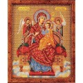 Кроше (Радуга бисера) В-172 Богородица Всецарица