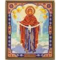 Кроше (Радуга бисера) В-174 Богородица Покрова