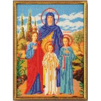 Кроше (Радуга бисера) В-179 Вера, Надежда и Любовь
