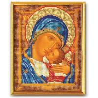 Кроше (Радуга бисера) В-181 Богородица Умиление