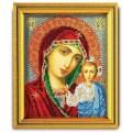 Кроше (Радуга бисера) В-302 Казанская Богородица