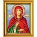 Кроше (Радуга бисера) В-307 Великомученица Анастасия Узорешительница
