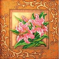 Кроше (Радуга бисера) В-410 Благоухающие лилии