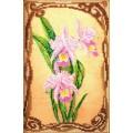Кроше (Радуга бисера) В-416 Грациозные орхидеи