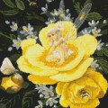 Kustom Krafts 98297 Фея на желтом пионе