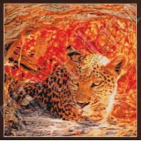 Kustom Krafts 98437 Затаившийся леопард (Hiding Leopard)