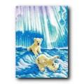 Kustom Krafts 98537 Медвежата в северном сиянии (Borealis Polar Bear Cubs)