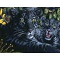 Kustom Krafts 99397 Черная пантера с детёнышем