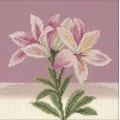 Lanarte 35095 Pink white lily (Розово-белые лилии)