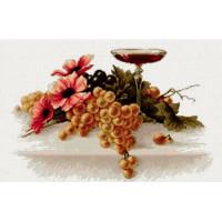 Luca-S B214 Цветы и виноград