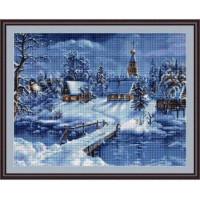 Luca-S B447 Зимний пейзаж