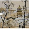 Maia 5678000-01177 Kimono Pagoda Horizon (Кимоно. Пагода вдалеке)