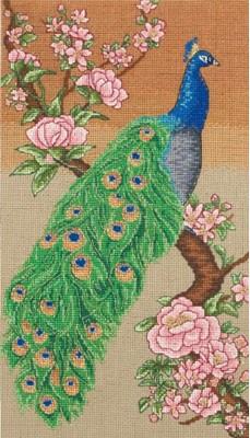 Набор для вышивания 5678000-01208 Majestic Peacock (Волшебный павлин)