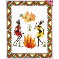 Марья Искусница 09.003.02 Танец Африки