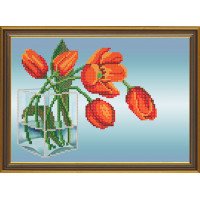 Nova Sloboda НС4114 Красные тюльпаны