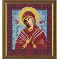 Nova Sloboda С9007 Богородица Семистрельная Умягчение злых сердец