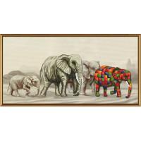 Nova Sloboda СВ3037 Прогулка слонов