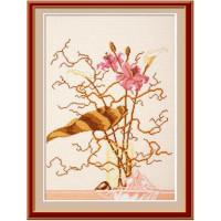 Овен 253 Розовые лилии