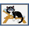 Овен 293 Кот на лежаке