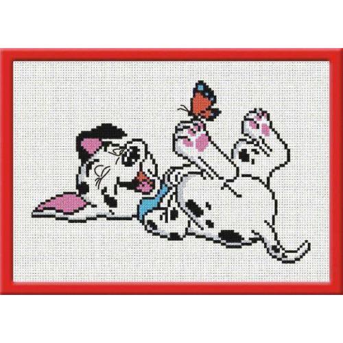 Схемы вышивки крестом щенок далматинца 88
