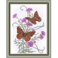 Овен 574 Бабочка на репейнике