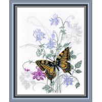 Овен 575 Бабочка на водосборе