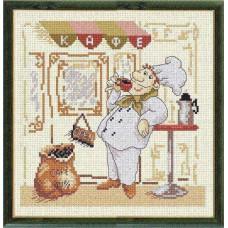 Набор для вышивания 589 Веселый повар 1