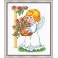 Овен 628 Ангелочек с корзиной