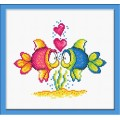 Овен 732 Влюбленные рыбки