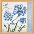 Овен РТ-001 Голубые цветы