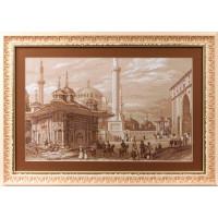 Panna ГМ-1292 Стамбул. Фонтан султана Ахмета. Золотая серия