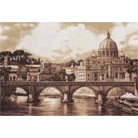 Panna ГМ-1332 Рим. Собор Святого Петра. Золотая серия