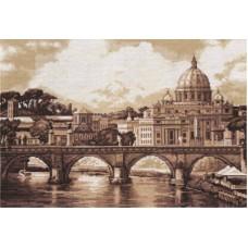Набор для вышивания ГМ-1332 Рим. Собор Святого Петра. Золотая серия